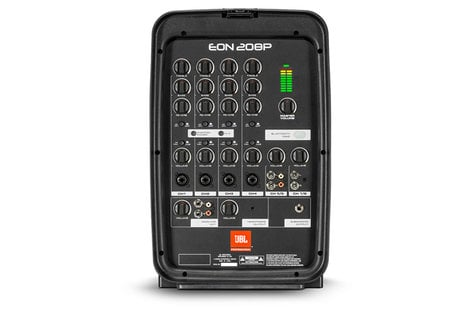 JBL EON-208P Packaged82WayPA with Powered 8-Channel Mixer And Bluetooth EON-208P