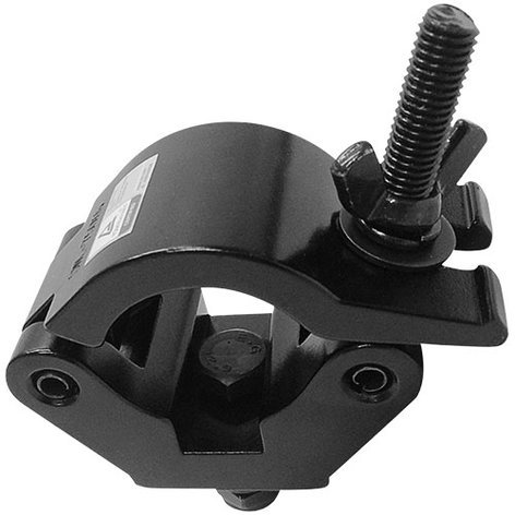 Global Truss X-PRO-CLAMP-BLK  Extra Heavy Duty Black Clamp With Fixed Bolt X-PRO-CLAMP-BLK