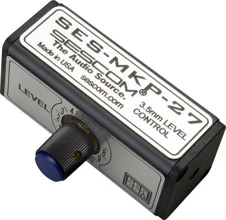 Sescom SES-MKP-27 3.5 mm Stereo Volume Control MKP-27