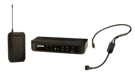 Shure BLX14/P31-H9  Headworn Wireless System with PGA31 Headset Microphone BLX14/P31-H9