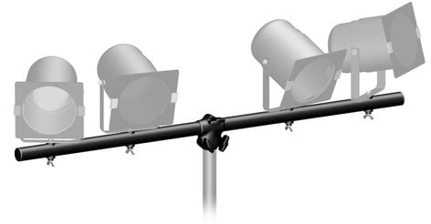 Ultimate Support LTB-48B 4ft T-Style Lighting Crossbar LTB48B