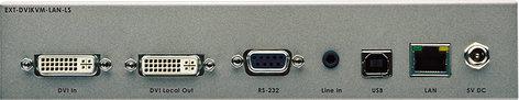 Gefen Inc EXT-DVIKVM-LAN-LTX DVI KVM Over IP with Local DVI Output-Sender Unit Package EXT-DVIKVM-LAN-LTX