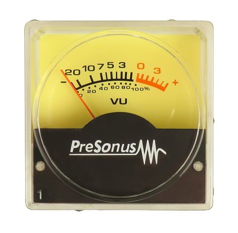 PreSonus 380-VU-001 BlueTube Volume Meter 380-VU-001