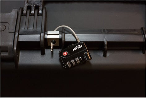 SKB 1SKB-PDL-C  TSA Combination Cable Padlocks 1SKB-PDL-C