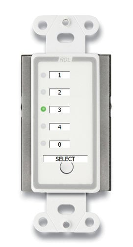 Radio Design Labs D-RCS4C  Remote Channel Selector - 4 Channels D-RCS4C