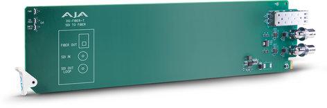 AJA Video Systems Inc OG-FIBER-T openGear 1-Channel SDI to Fiber Converter OG-FIBER-T