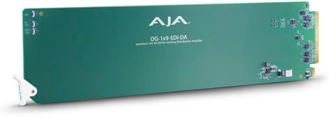 AJA Video Systems Inc OG-1x9-SDI-DA openGear 1x9 3G-SDI Re-Clocking Distribution Amp OG-1X9-SDI-DA