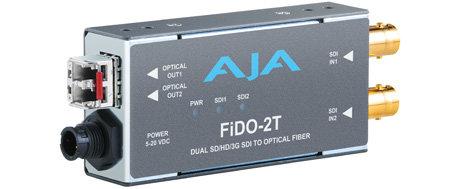 AJA Video Systems Inc FIDO-2T-CWDM Dual Channel 3G-SDI To LC Fiber FIDO-2T-X