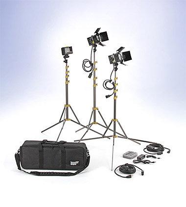 Lowel Light Mfg SLK-9122LB  Slimlight Pro 2 Blender 1 Kit  SLK-9122LB