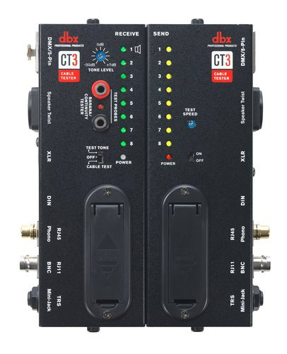 DBX CT3 Advanced Cable Tester with Split Design CT3