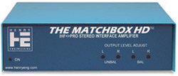 Henry Engineering MATCHBOX-HD Bi-Directional Stereo Level & Impedance Interface MATCHBOX-HD