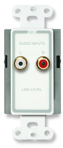 Radio Design Labs D-J2 Mic/Line Input Input Assembly with RCA Jacks D-J2