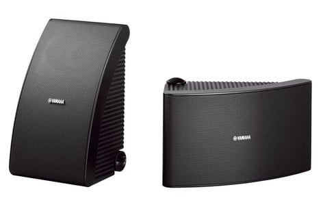 Yamaha NS-AW992BL  All-Weather Speakers, Black, Sold As A Pair NS-AW992BL