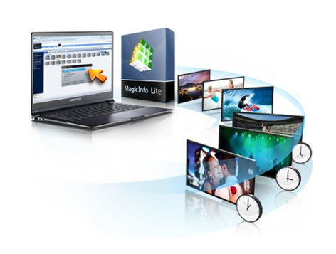 Samsung MagicInfo Lite Content Management Solution Software with Server License CY-MILSSTS