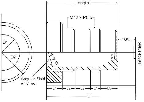 Marshall Electronics V-4402.1-2.5-HR  Fixed Focal Lens V-4402.1-2.5-HR