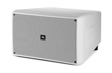 """JBL SB2210-WH Dual 10"""" Compact Subwoofer, White  SB2210-WH"""