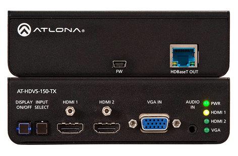 Atlona Technologies ATNO-HDVS-150-TX [RESTOCK ITEM] Three Input HDMI/VGA Switcher with HDBaseT Output ATNO-HDVS-150-RST-01