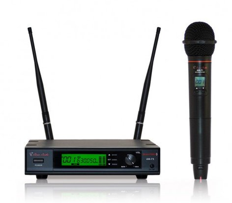 Special Projects AW-7571  Handheld Wireless Cardioid Condenser Microphone System AW-7571