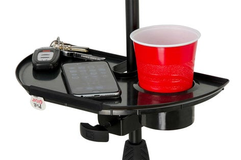 Gator Cases GFW-MICACCTRAY  Microphone Stand Accessory Tray GFW-MICACCTRAY