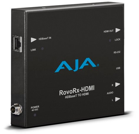 AJA RovoRx-HDMI HDBaseT to HDMI (with PoH) ROVORX-HDMI