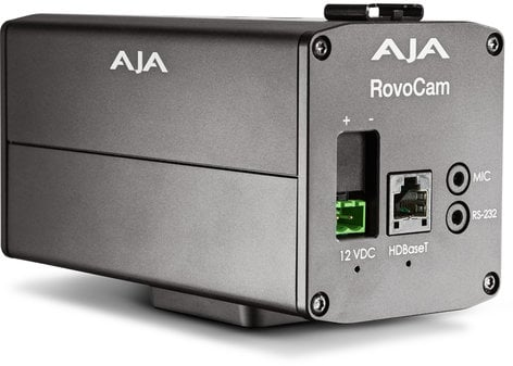 AJA RovoCam Integrated Ultra HD/HD Camera w/HDbaseT (with PoH) ROVOCAM