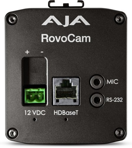 AJA Video Systems Inc RovoCam Integrated Ultra HD/HD Camera w/HDbaseT (with PoH) ROVOCAM