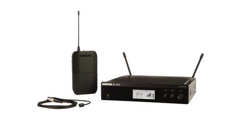 Shure BLX14R/W93-H9 Lavalier Wireless System With WL93 Microphone, 512-542 MHz BLX14R/W93-H9