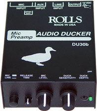 Rolls DU30B Mic Preamp / Audio Ducker DU30B