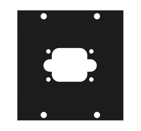 Middle Atlantic Products 1G1  UCP Modular Panel with G1 Punchout 1G1