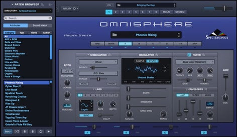 Spectrasonics Omnisphere 2 Virtual Synthesis Instrument Software OMNISPHERE-2