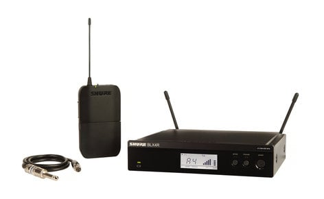 Shure BLX14R-H10 Wireless Guitar System With Rack Mountable Receiver, 542-572 MHz BLX14R-H10