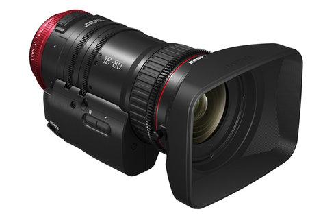 Canon COMPACT-SERVO 18-80mm T4.4 EF Mount Lens for Cinema EOS Digital Cameras 1714C002