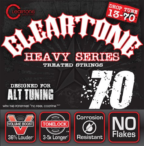 "Cleartone Guitar Strings 9470 013""-.070"" Drop C Electric Guitar Strings 9470-CLEARTONE"