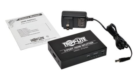 Tripp Lite B118-004  4-Port HDMI Splitter for Video and Audio B118-004