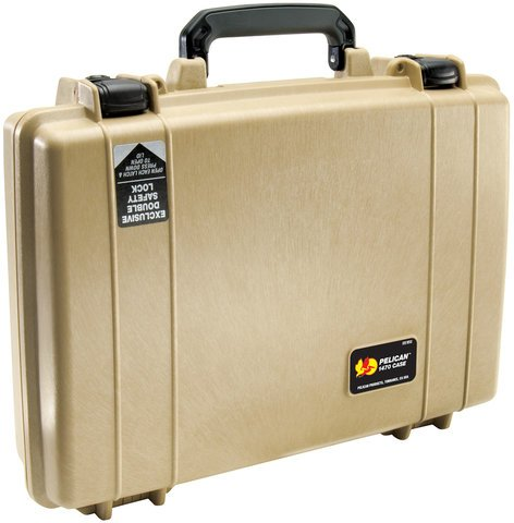 Pelican Cases 1470NF Laptop Case with Empy Interior PC-1470-NF