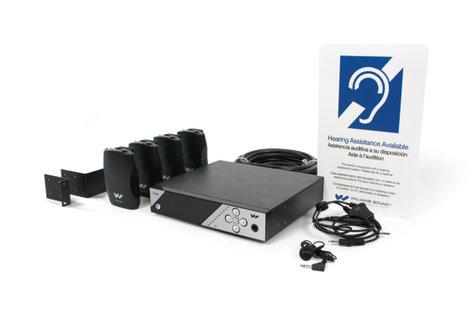 Williams Sound PPA 457 NET PRO Personal PA Pro FM Assistive Listening System PPA-457-NET-PRO
