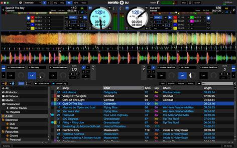 Serato Serato DJ DJ Software with built-in Sample Player, Effects, iOS Remote Support SERATO-DJ