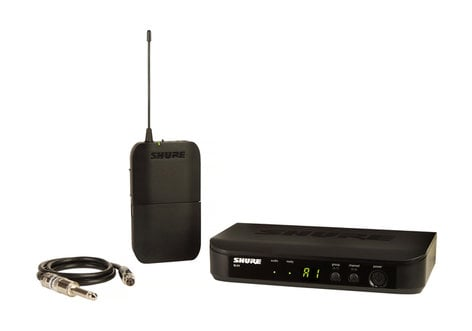 Shure BLX14-H9 Bodypack Wireless System With WA302 Instrument Cable, 512-542 MHz BLX14-H9