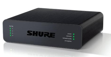 Shure ANI4OUT-XLR  Audio Network Interface With 4 XLR Outputs ANI4OUT-XLR