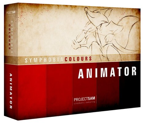 ProjectSAM PS-COL-ANIM Symphobia Colours: Animator Sound Library PS-COL-ANIM