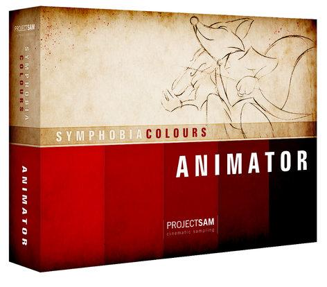 ProjectSAM Symphobia Colours: Animator Sound Library PS-COL-ANIM