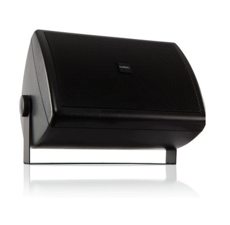 """QSC AC-S6T AcousticCoverage Series, Surface Speaker, 6"""", Black, Sold In Pairs AC-S6T-BK"""