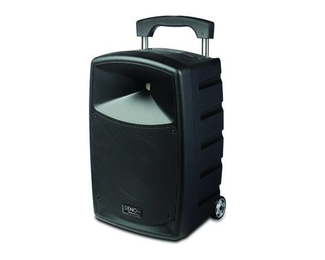 "Denon Envoi [B-STOCK MODEL] Portable 2-Way PA System with 10"" Woofer, Rechargeable Battery and Bluetooth Connectivity, and with Wireless Handheld Microphone ENVOI-BSTOCK"