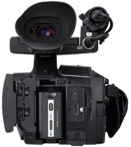 Panasonic AJ-PX230PJ microP2 Handheld AVC-ULTRA HD Camcorder with 22x Zoom, in Black AJPX230PJ