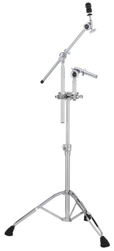 Pearl Drums TC1030B Tom/Cymbal Stand with GyroLock, 360° Adjustable Tom Positioning TC1030B