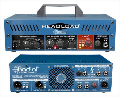 Radial Engineering Headload Guitar Amplifier Load Box HEAD-LOAD