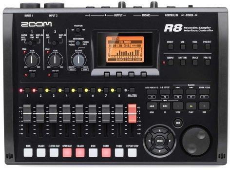 Zoom R8 [USED B-STOCK MODEL] All-In-One Recorder / Interface / Controller R8-BSTOCK