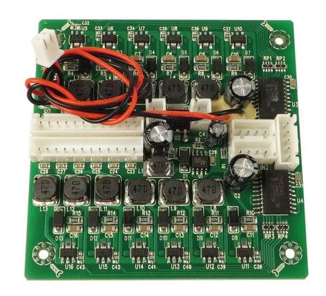Elation Pro Lighting D01-103123-01 LED Driver PCB Assembly for Opti Quad Par D01-103123-01