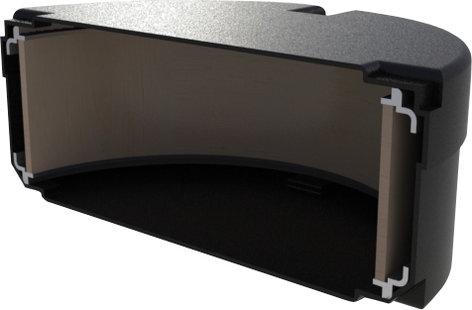 """Gator Cases GP-PE1007 Elite Air Series 10"""" x 7"""" Tom Case GP-PE1007"""