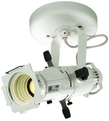 ETC/Elec Theatre Controls 4M50L-I-1 Source Four Mini LED, 50° Canopy Install with White Finish 4M50L-I-1